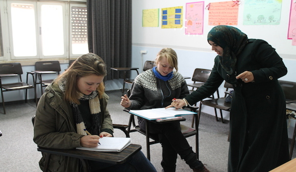 Study Arabic In Palestine 2013 (Ahlan Program)Excellence Center in Hebron would like to announce its Arabic courses for visitors and foreign employees in Palestine. The Ahlan Program targets beginners, intermediates, and Advance students of Arabic. The program aims at teaching the Palestinian dialect, reading and writing Arabic. We host internationals and organize Arabic classes for them year round.