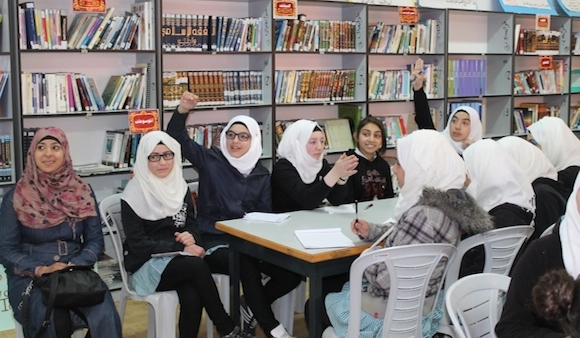 English at Schools in HebronExcellence Center works with some community institutions of the city of Hebron such as the Ministry of Education and local Non-Govermental Organizations such as Injaz Palestine.Excellence Center's team, international volunteers and interns participate in English clubs at local schools to help school students improve their conversational skills. Additionally, Excellence Center\'s team in coordination with Injaz Palestine teaches business and leadership courses to eighth, ninth and tenth graders to help them create a better future..